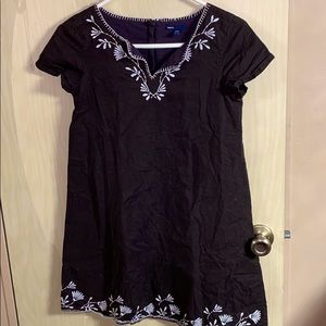 Gap Kids Dress Embroidered Girls' sz 14/16 XL